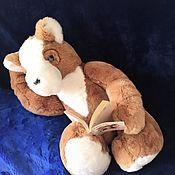 Мишки Тедди ручной работы. Ярмарка Мастеров - ручная работа Потап мишка Тедди игрушка из натурального меха Большой 67 см. Handmade.