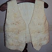 """Одежда ручной работы. Ярмарка Мастеров - ручная работа Жилет валяный """"Дикая овечка"""". Handmade."""