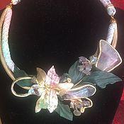 handmade. Livemaster - original item necklace Lily.. Handmade.