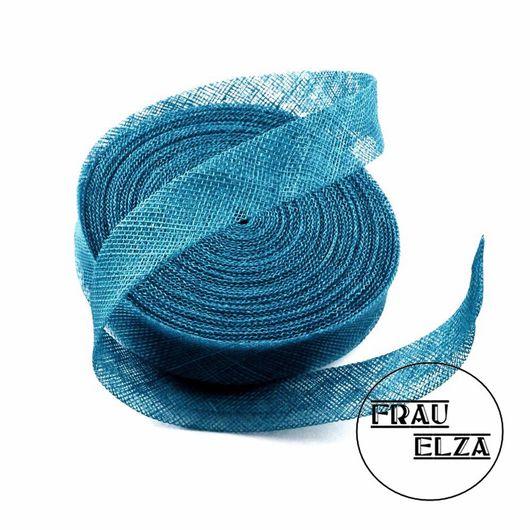 Другие виды рукоделия ручной работы. Ярмарка Мастеров - ручная работа. Купить Синамей лента 2 см Морская волна. Handmade.