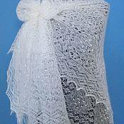 Аксессуары handmade. Livemaster - original item Shawls: 201 gossamer down Orenburg openwork. Handmade.