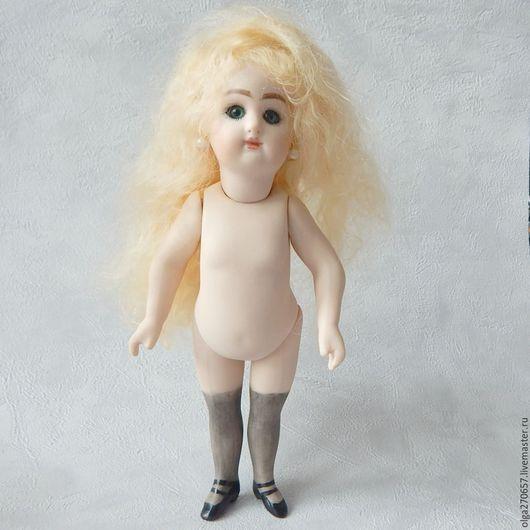 Винтажные куклы и игрушки. Ярмарка Мастеров - ручная работа. Купить FRENCH RD 19 см реплика. Handmade. Бежевый, фарфор