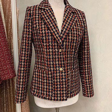Одежда ручной работы. Ярмарка Мастеров - ручная работа Жакет в стиле Chanel. Handmade.