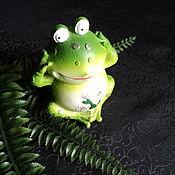 Фен-шуй и эзотерика handmade. Livemaster - original item Money Spirit Toad (with settlement).. Handmade.