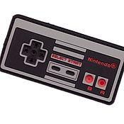 Аппликации ручной работы. Ярмарка Мастеров - ручная работа Нашивка Джойстик Геймпад Dandy Nintendo, вышитая или ПВХ. Handmade.