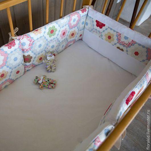 Комплект `Пэчворк` для кроваток 120-60 и 125-65.