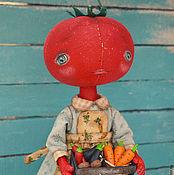 Куклы и игрушки ручной работы. Ярмарка Мастеров - ручная работа Томат. Handmade.