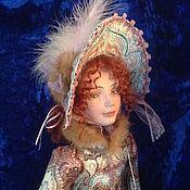 Куклы и игрушки ручной работы. Ярмарка Мастеров - ручная работа Кукла на коньках в винтажном стиле. Handmade.