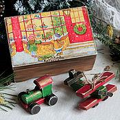 Подарки к праздникам ручной работы. Ярмарка Мастеров - ручная работа Старенькие деревянные игрушки. Handmade.