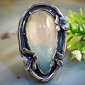"""Украшения ручной работы. Ярмарка Мастеров - ручная работа Кольцо """"Танец Орхидей"""" - голубо-винный топаз, серебро. Handmade."""