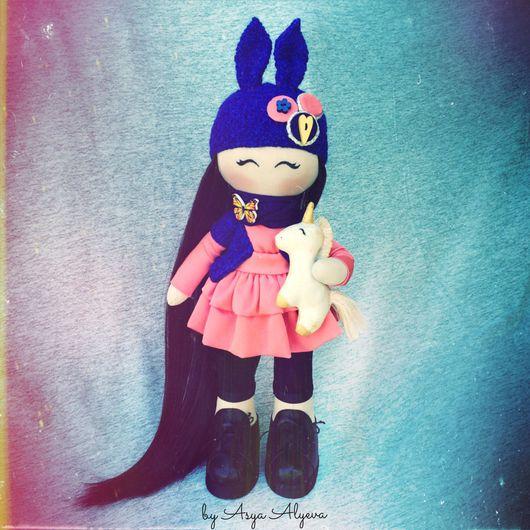 Коллекционные куклы ручной работы. Ярмарка Мастеров - ручная работа. Купить Кукла текстильная . Рост 35см.. Handmade. подарок, хендмейд