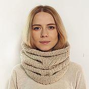 Аксессуары handmade. Livemaster - original item Knitted Snood-pipe