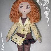 """Куклы и игрушки ручной работы. Ярмарка Мастеров - ручная работа Текстильная кукла """"Кокетка."""". Handmade."""
