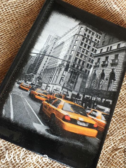нью йорк, желтое такси, америка, ежедневник. ежедневник декупаж, ежедневник ручной работы, ежедневник в подарок, датированный ежедневник, недатированный ежедневник, мужской ежедневник, ежедневники