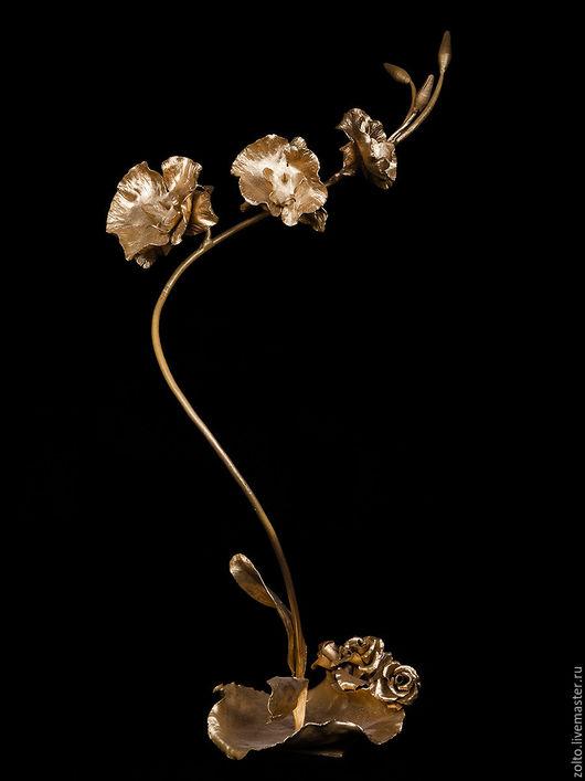 `Золотая орхидея` №2,сталь