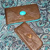 Сумки и аксессуары ручной работы. Ярмарка Мастеров - ручная работа чехол  для телефона кожаный. Handmade.