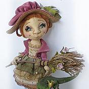 Куклы и игрушки ручной работы. Ярмарка Мастеров - ручная работа Весенняя ведьмочка Роз и её Принц. Коллекционная кукла. Handmade.