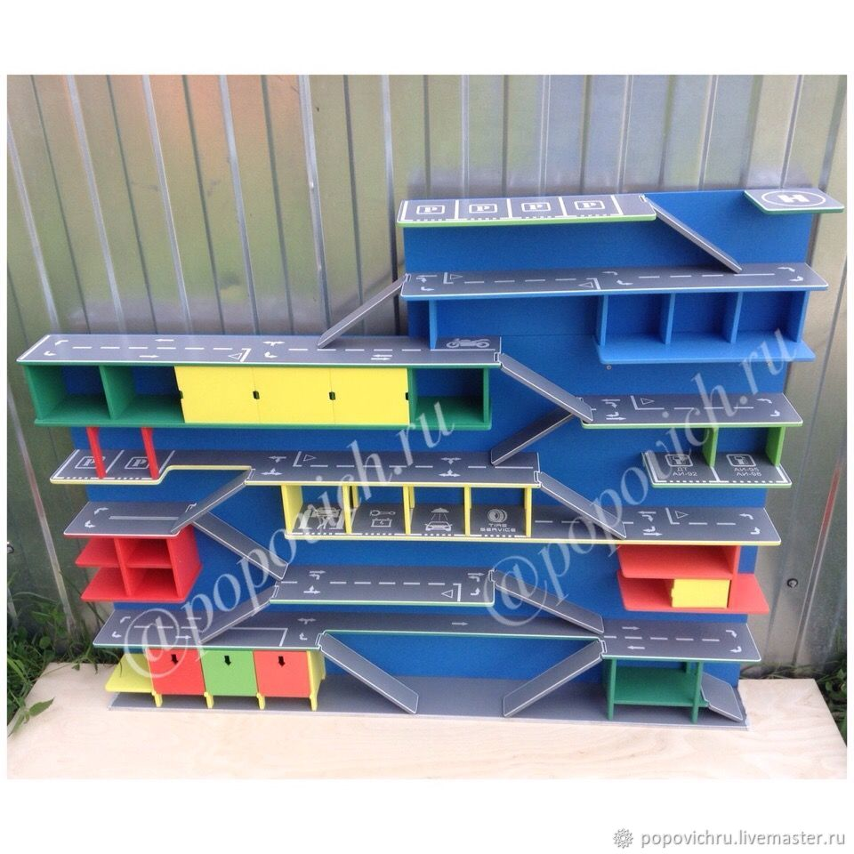 Garage for cars. Parking. Rack, Doll furniture, Cheboksary,  Фото №1