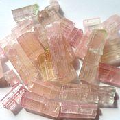 Материалы для творчества ручной работы. Ярмарка Мастеров - ручная работа Турмалины рубеллиты 50кт, розовые и салатово-розовые. Handmade.