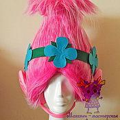 Одежда handmade. Livemaster - original item Wig of Troll Poppy. Accessories to suits. Handmade.
