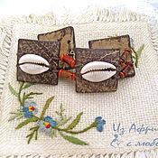 Украшения handmade. Livemaster - original item Bracelet Cowrie Coconut. Handmade.