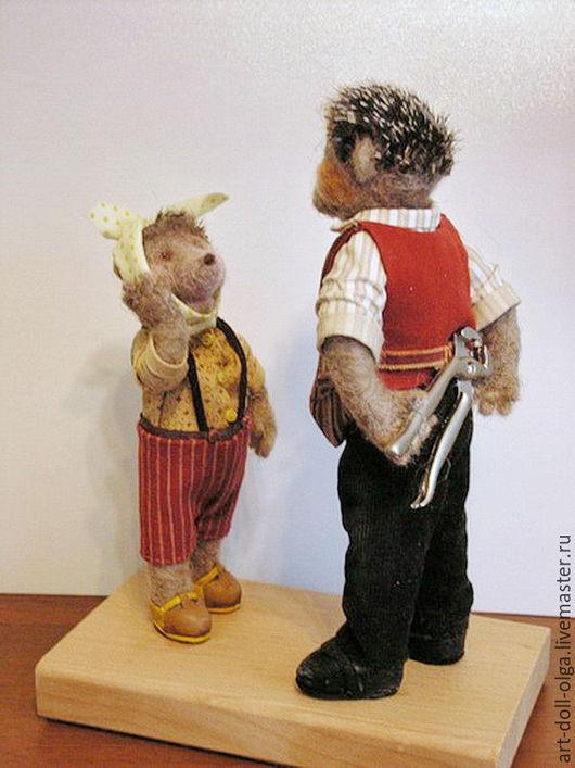 """Коллекционные куклы ручной работы. Ярмарка Мастеров - ручная работа. Купить Коллекционная  войлочная игрушка """"А может к стоматологу?"""". Handmade."""