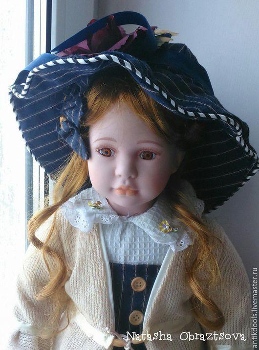 Коллекционные куклы ручной работы. Ярмарка Мастеров - ручная работа. Купить Коллекционная фарфоровая кукла. Handmade. Фарфор, кукла