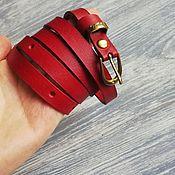 Аксессуары handmade. Livemaster - original item Leather strap. Handmade.