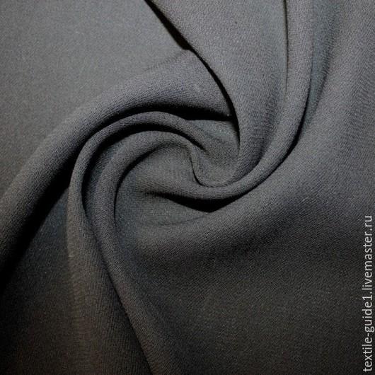 Плательная шерстяная ткань. Состав 50% шерсть, 50% вискоза, ширина 140см, производитель Италия
