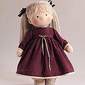 Куклы и игрушки ручной работы. Ярмарка Мастеров - ручная работа Текстильная кукла-девочка. Handmade.