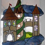 Картины и панно ручной работы. Ярмарка Мастеров - ручная работа Замки из стекла. Handmade.