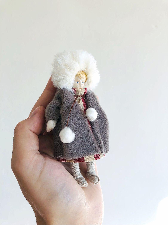 Елочная игрушка. Девочка, Елочные игрушки, Архангельск,  Фото №1