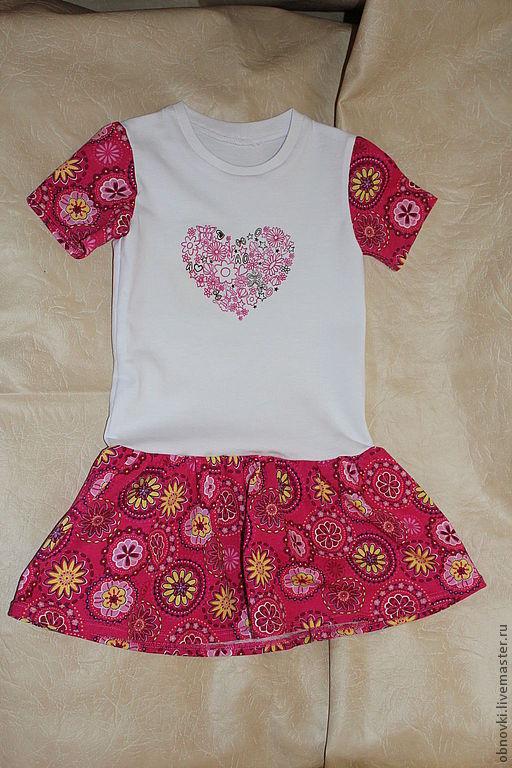 Одежда для девочек, ручной работы. Ярмарка Мастеров - ручная работа. Купить платье детское. Handmade. Розовый, платье для девочки