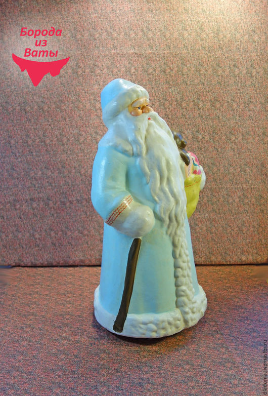 Винтажные куклы и игрушки. Ярмарка Мастеров - ручная работа. Купить Дед Мороз . Большой. композитный (опилочный). Handmade. Советский