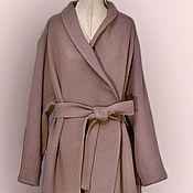 """Одежда ручной работы. Ярмарка Мастеров - ручная работа Пальто с поясом """"Английский стиль"""" look 2. Handmade."""