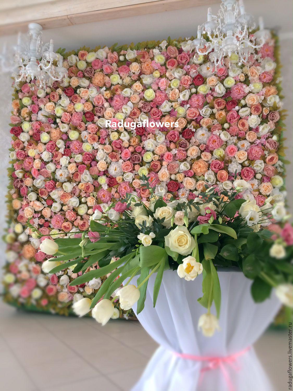 Аренда цветов на свадьбу