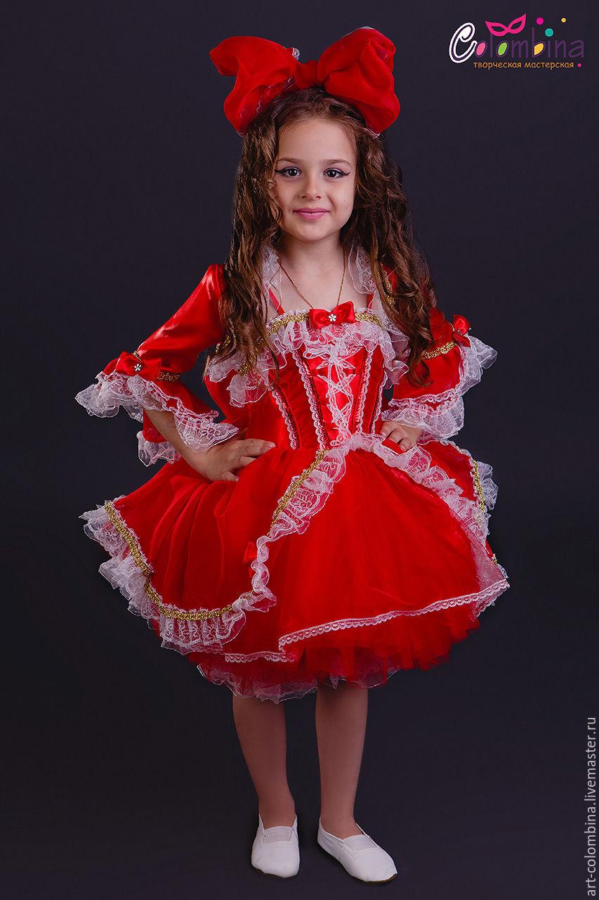Купить Костюм куклы - ярко-красный, кукла, костюм куклы ... - photo#5
