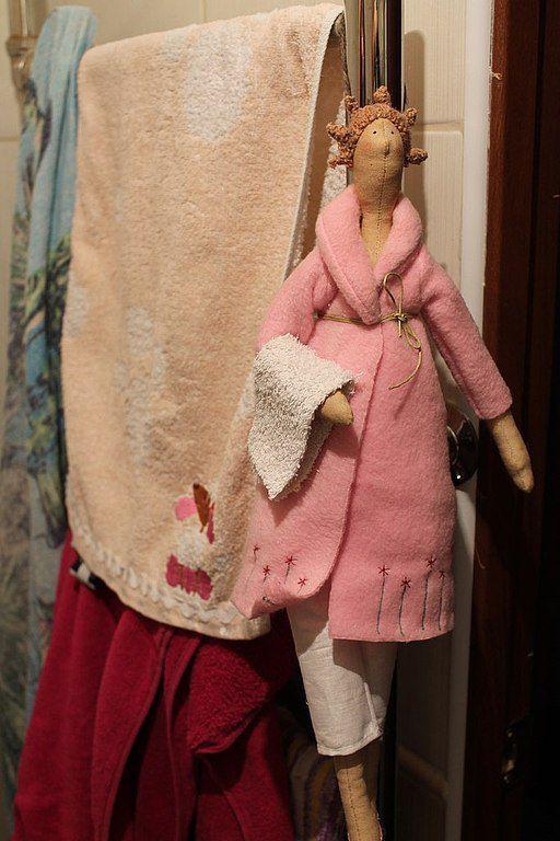 Куклы Тильды ручной работы. Ярмарка Мастеров - ручная работа. Купить Банный ангел.. Handmade. Кремовый, кукла текстильная