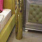 Для дома и интерьера ручной работы. Ярмарка Мастеров - ручная работа Ваза золотого цвета. Handmade.