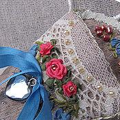Сумки и аксессуары ручной работы. Ярмарка Мастеров - ручная работа Чехольчик для ножничек розовый. Handmade.