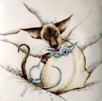 сиамская кошка, ориентальная кошка