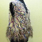 Одежда ручной работы. Ярмарка Мастеров - ручная работа Жилет Степной ветер 2. Handmade.