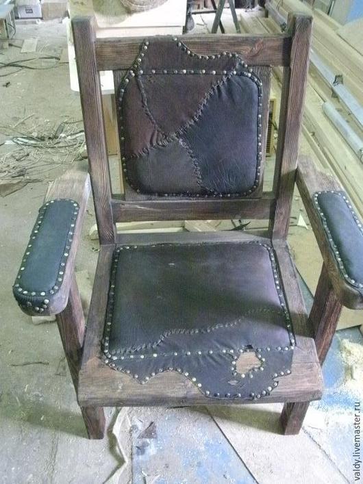 Мебель ручной работы. Ярмарка Мастеров - ручная работа. Купить Мебель состаренная и любая другая. Handmade. Кресло