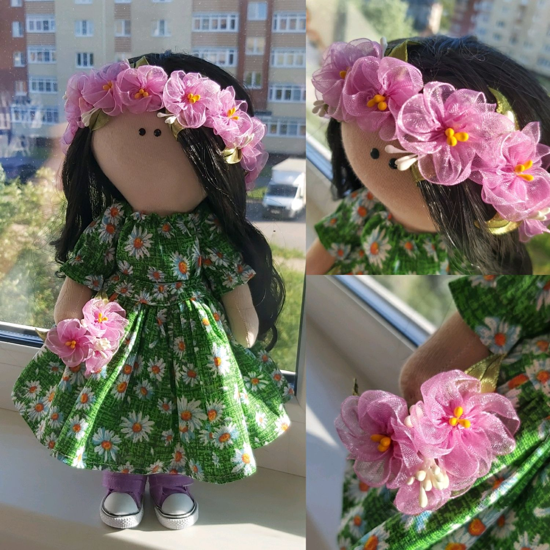 Текстильная кукла 30см, Тыквоголовка, Вологда,  Фото №1