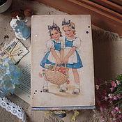 """Для дома и интерьера ручной работы. Ярмарка Мастеров - ручная работа Короб """"Я и Ты"""" , короб - пенал для хранения. Handmade."""