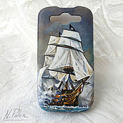 Сумки и аксессуары handmade. Livemaster - original item painting phone case for.