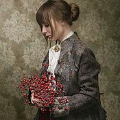 """Одежда ручной работы. Ярмарка Мастеров - ручная работа Жакет """"Приходи"""" войлок. Handmade."""