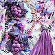 """Украшения для сумок ручной работы. Заказать Комплект аксессуаров """"Flavor of Italy"""". Designer flowers by Elena Badreeva (e-belenka). Ярмарка Мастеров."""