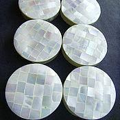 Материалы для творчества handmade. Livemaster - original item Nautilus Pompilius shell beads with 2 holes. Handmade.