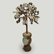 Цветы и флористика handmade. Livemaster - original item Wood of black and white pearls